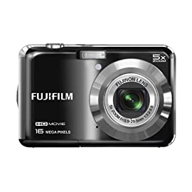 Fujifilm FinePix AX660 16 MP Digital Camera with 2.7-Inch LCD (Black)