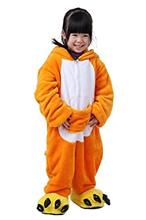 Long Sleeve Pajamas Kid's Children's Cosplay Costume Animal Kangaroo Pyjamas SleepWear