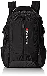 Wenger Laptop Computer Backpack by SwissGear SA1537 (Black) Fits Most 15 Inch Laptops