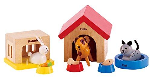 hape-hap-e3455-set-de-mascotas-de-madera