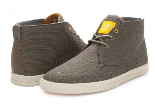 Clae Strayhorn Textile Silt Canvas Shoes