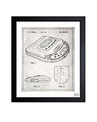 Oliver Gal Portable CD-Player 1999 Framed Art