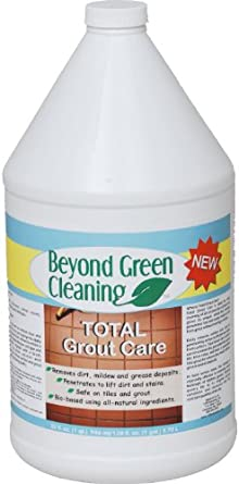 Clift Industries 9901-004 Beyond Green Cleaning Total Grout Care Cleaner, 1-Gallon Bottle (Pack of 4)