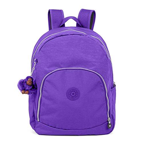 Kipling Carmine Backpack, Octopus Purple, One Size