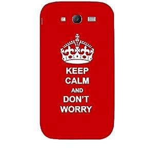"Skin4gadgets Keep Calm and DONââ'‰""¢T WORRY - Colour - Red Phone Skin for SAMSUNG GALAXY GRAND (I9082)"