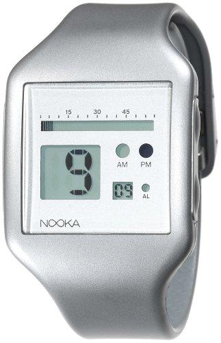 Nooka Unisex ZUB-ZOO-SV-20 Zub Zoo Silver Polyurethane Watch