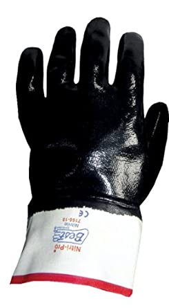 Showa Best 7116 Insulated Nitri-Pro Fully Coated Nitrile Glove, Cotton Jersey with Foam Insulation, Reinforced Safety Cuff, General Purpose Work, X-Large (Pack of 12 Pairs)