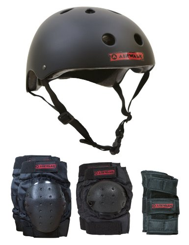 Airwalk  Helmet,Knee, Elbow, Wrist Combo  - Junior