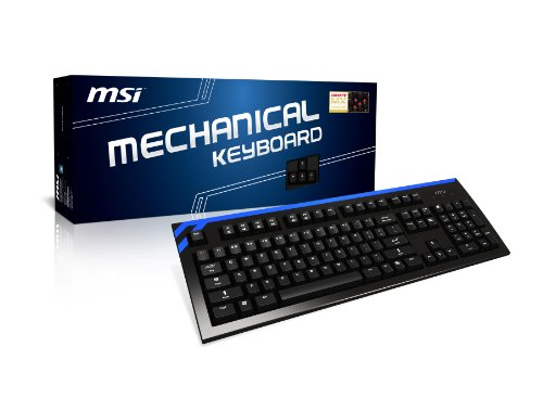 Msi Ck Series Us Usb 2.0/Ps2 Mechanical Keyboard front-968741