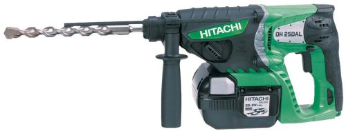 Hitachi DH25DAL 25.2V SDS-Plus Rotary Hammer Drill 3 Mode 2 x 3.0Ah Lithium-Ion batteries