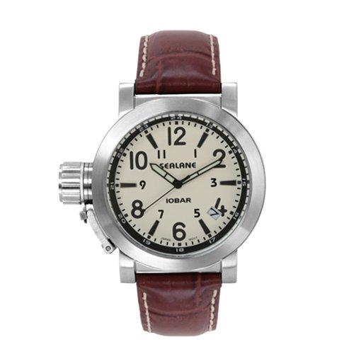 [シーレーン]SEALANE 腕時計 10BAR N夜光 SE43-LWH メンズ