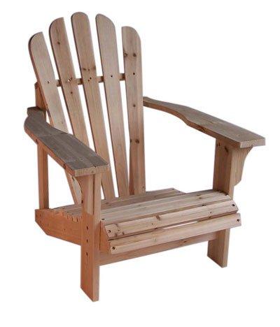 Cedar Adirondack Chair - Natural