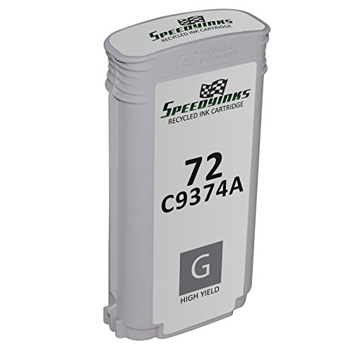 Speedy Inks - Remanufactured Replacement Ink Cartridge for Hewlett Packard C9374A (HP 72) High-Yield Gray for use in DesignJet T1100, DesignJet T1100ps, DesignJet T1120, DesignJet T1120 SD-MFP, DesignJet T1120ps, DesignJet T1200, DesignJet T1200ps, DesignJet T1300, DesignJet T2300, DesignJet T2300 PostScript, DesignJet T610, DesignJet T620, DesignJet T770, DesignJet T790, & DesignJet T795 coupons 2016