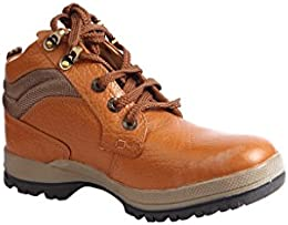 RED CHIEF Leather TAN Casual Shoe for Men B01KK27O1K