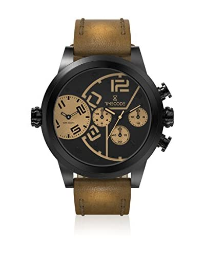 Timecode Orologio al Quarzo Chip 1958 Marrone 51  mm