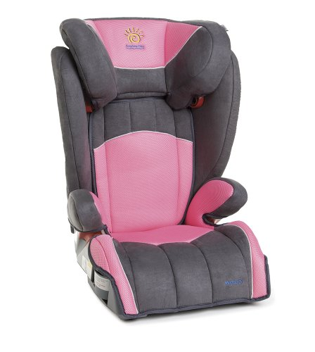 Sunshine Kids Monterey Booster Car Seat, Pink