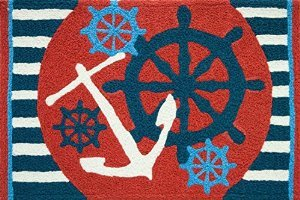 Anchors Away Ships Wheel Nautical Sailing Area