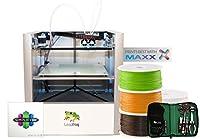 Leapfrog Creatr 3D Printer Starter Package, Single Extruder, 200 x 270 x 230 mm Maximum Build Dimensions 0.05-mm Maximum Resolution; ABS, Laybrick, Nylon, PLA, and PVA Filament by Leapfrog
