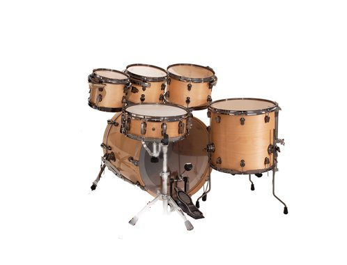 Ludwig Epic 6-Piece Fusion Birch / Maple Drum Set Shell Pack Natural
