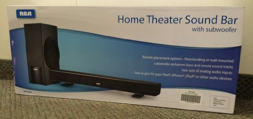 Rca Rts735S Home Theater Sound Bar With Subwoofer