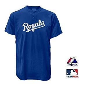 Kansas City Royals Two Button Officially Licensed MLB Jersey Youth Small by Team MLB - Authentic Sports Shop