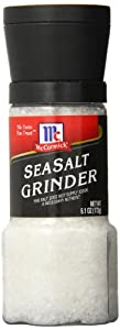 McCormick Sea Salt Grinder Value Size,6.1 Ounce