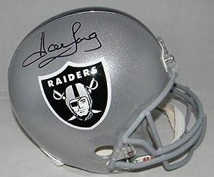 Howie Long Signed Replica Helmet - JSA Certified - Autographed NFL Helmets by Sports Memorabilia