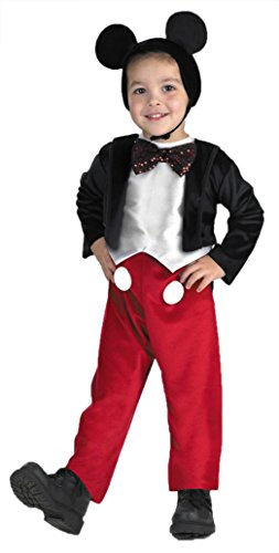 Boys Mickey Mouse Deluxe Kids Child Fancy Dress Party Halloween Costume