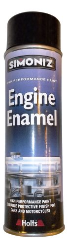 Simoniz Engine Enamel Paint 500ml - Gloss Black
