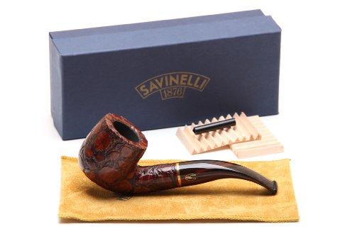 Savinelli Alligator Brown 622 Tobacco Pipe