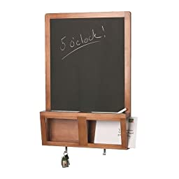 1 X LUNS,Writing/magnetic board, antique stain