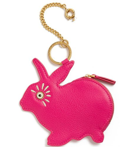 Marc By Marc Jacobs Marc by Marc Jacobs Rabbit Coin Pouch w Keychain Pop Pink