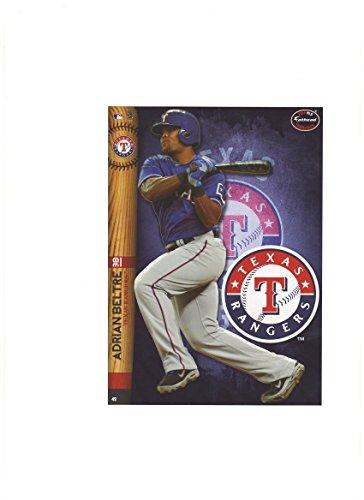 Texas Rangers Mini Felt Pennant & Adrian Beltre Mini Fathead 2014
