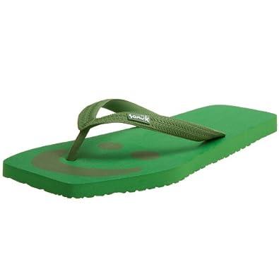 Sanuk Men's Happy U Sandals,Green,7 M US