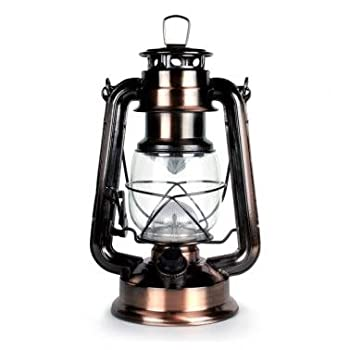Lantern, outdoor lighting, 15 LED Lantern. Lantern has traditional lantern look with bright, efficient LED lighting.