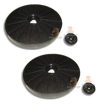 8 x Universal Fettfilter Kohlefilter Aktivkohle Vlies Filter Aktivkohlefilter