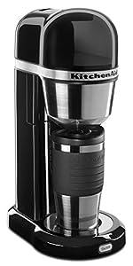 Amazon.com: KitchenAid KCM0402OB Personal Coffee Maker - Onyx Black: Drip Coffeemakers: Office ...