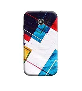 Ebby Premium Back Cover For Motorola Moto E (2nd gen)