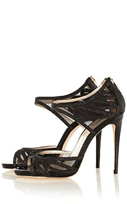 Glitter Mesh Sandal