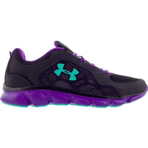 Under Armour Womens Micro G Assert IV Running Shoe Graphite/White/Chaos