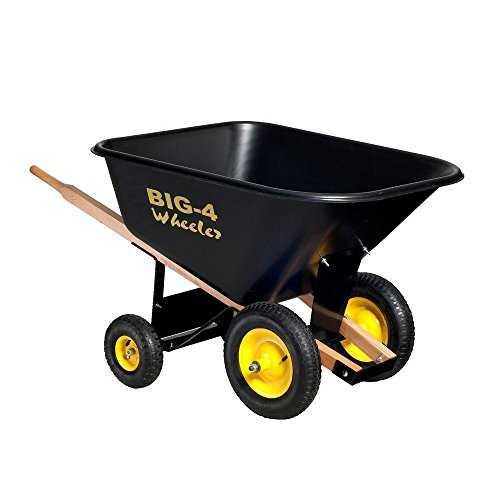 10 cu. ft. Heavy-Duty Wheelbarrow (Wheelbarrow 10 Cubic Feet compare prices)