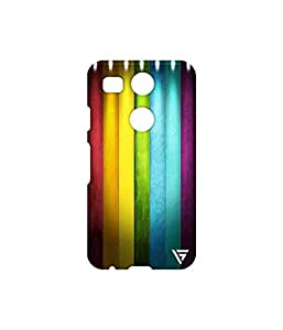 Vogueshell Multi Colour Pattern Printed Symmetry PRO Series Hard Back Case for LG Nexus 5X