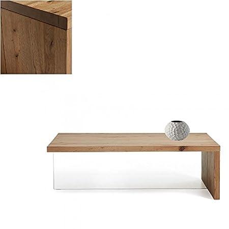 Mesa de centro de madera de roble macizo 120 cm , Selección Cabana