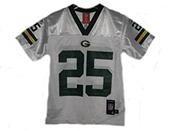 Ryan Grant Green Bay Packers White NFL Youth Kids Mid-Tier Jersey (Kids 4)
