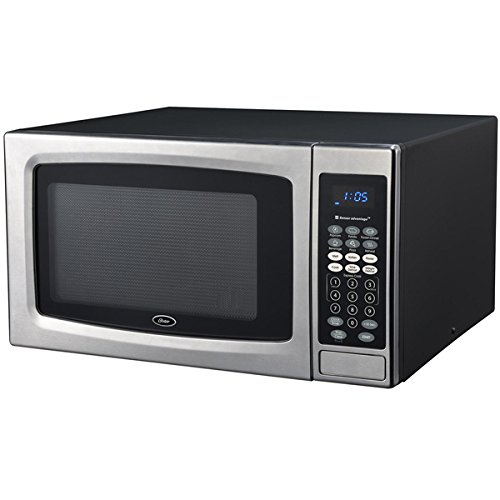 1.3 Cubic Foot Black and Stainless Steel Digital Microwave Oven (Oster Oven Parts compare prices)