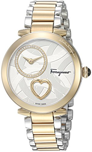 Salvatore-Ferragamo-Womens-Beating-Heart-Swiss-Quartz-Stainless-Steel-Casual-Watch-ColorTwo-Tone-Model-FE2080016
