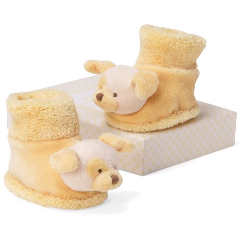 "Gund Lemon Dog Booties 3"" Infant Accessory"