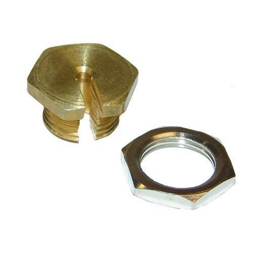 Generic 263812 Panel Nut Adaptor Kit, Brass & Nickel,