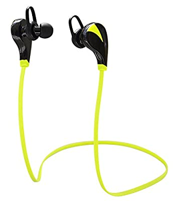 Bluesim Wireless Bluetooth Headphones Noise Cancelling Headphones w/ Microphone Sports / Running / Gym / Exercise/ Sweatproof Wireless Bluetooth Earbuds Headset Earphonesfor Iphone 6, Iphone 6 Plus, 5 5c 5s 4s Apple Ipad Air, Samsung Galaxy S6 S5 S4 S3 No