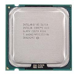 Intel Core 2 Duo E6750 2.66GHz 1333MHz Socket 775 Processor